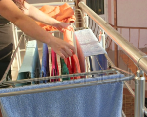 Right Cloths dryer location