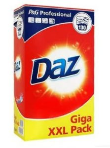 Daz P&G Professional 130 Washes Giga XXL Pack Soap Powder