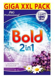 Bold 2 in 1 Washing Powder with Fabric Softener 130 Wash