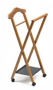 Arredamenti Italia folding bedroom valet clothes stand
