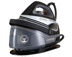 Tower Steam Generator Iron with Non-Stick Ceramic Soleplate: