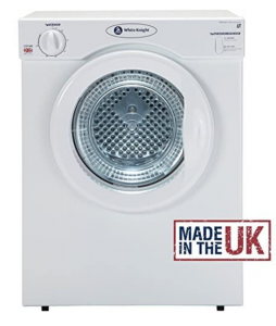 White Knight C37AW Compact Vented Tumble Dryer