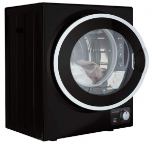 Cookology Mini Tabletop Black Compact Vented Tumble Dryer