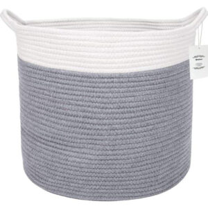 Wintao Cotton Rope Basket Woven Natural Laundry Basket