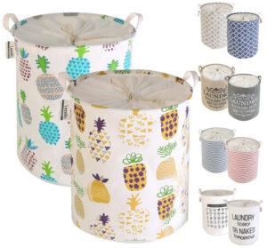 LessMo 2-PCS-17.7″ Drawstring Laundry Basket