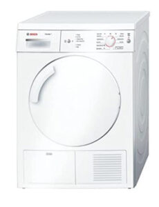 Bosch WTE84106GB 7kg Tumble Dryer with Sensor Drying System and Top Mount Water Bottle