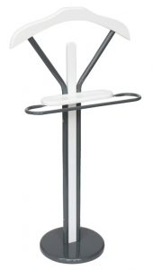 Bremermann Valet Stand in White Color