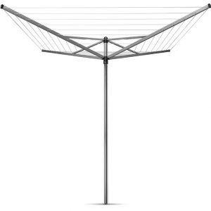 Brabantia Top-spinner Rotary Washing Line with Metal Ground Spike in 40 meters