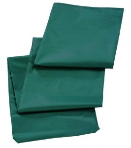 Leifheit Rotary Washing Line Protective Cover in Green Color