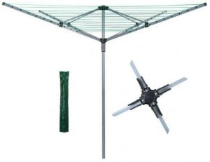 Abaseen 60 Meters and 4 Arms Rotary Washing Line